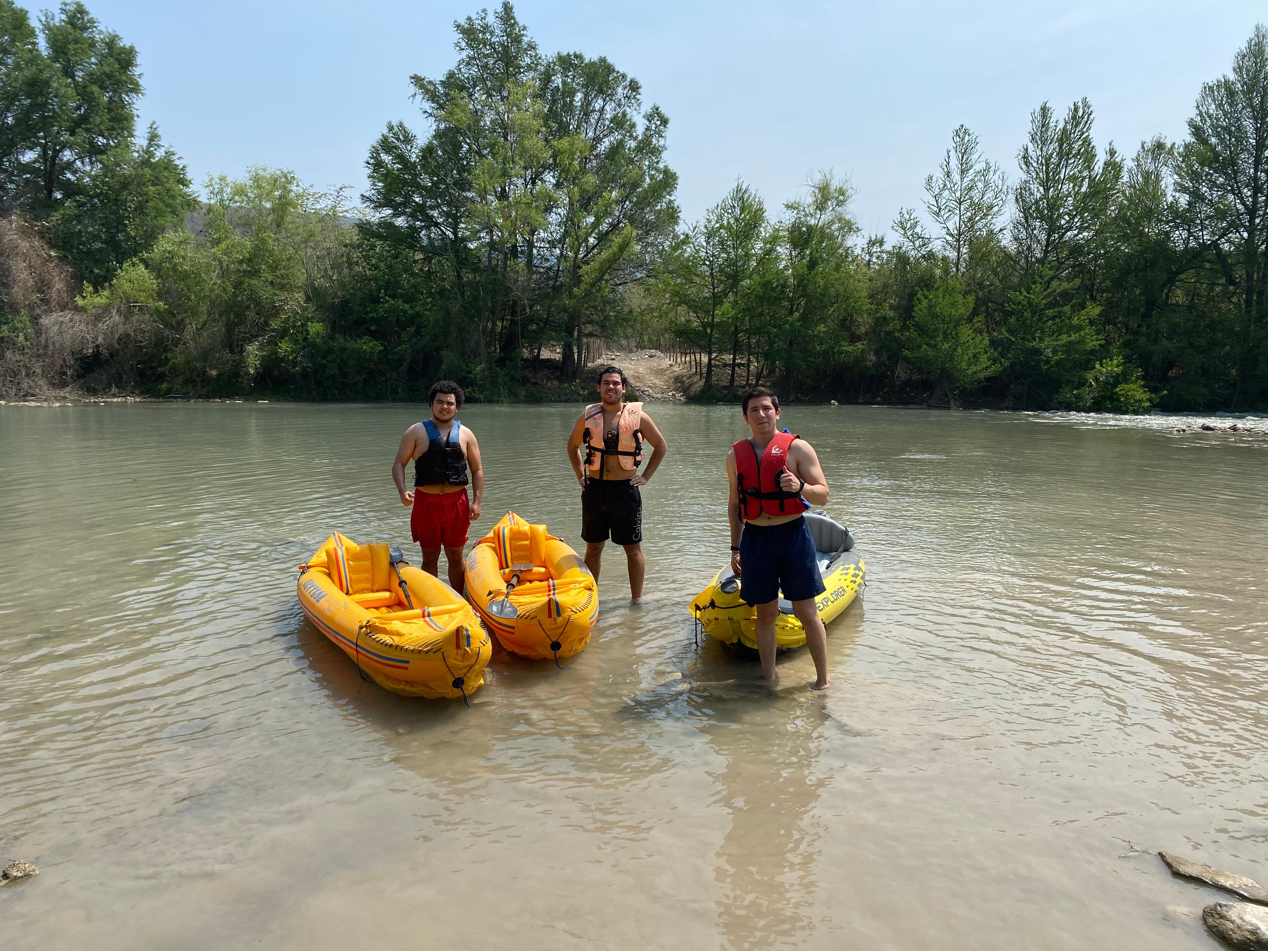 Recorrido en Kayak por Rio Guayalejo