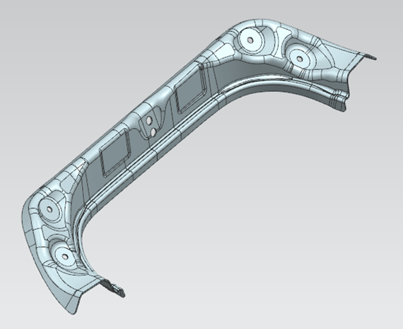 Automotive - Transfer Parts: Rear Flow Sink Lower Patch