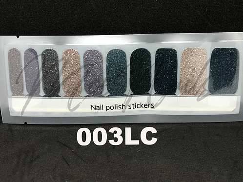 Luxe Nail Polish Strip 003LC