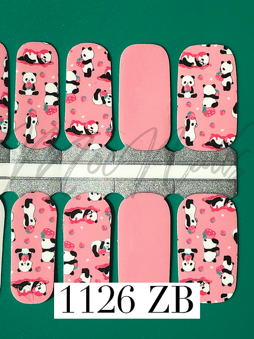 Nail Polish Strip 1126ZB