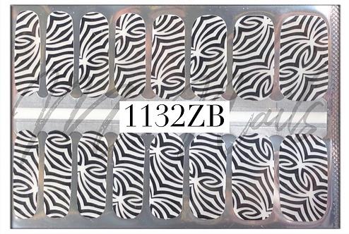 Nail Polish Strip 1132ZB - SHEER
