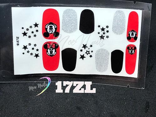 Nail Polish Stickers 17ZL