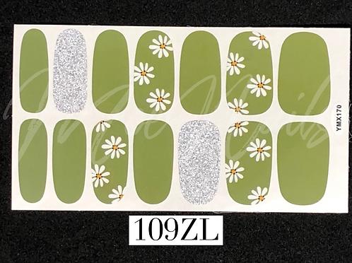 Nail Polish Sticker 109ZL