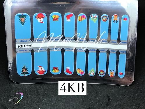 Kids Christmas Nail Polish Strip 4KB