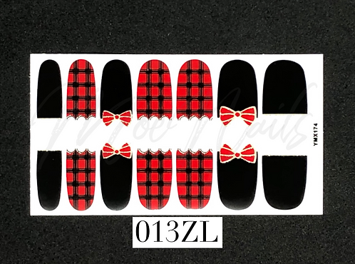 Nail Polish Sticker 013ZL