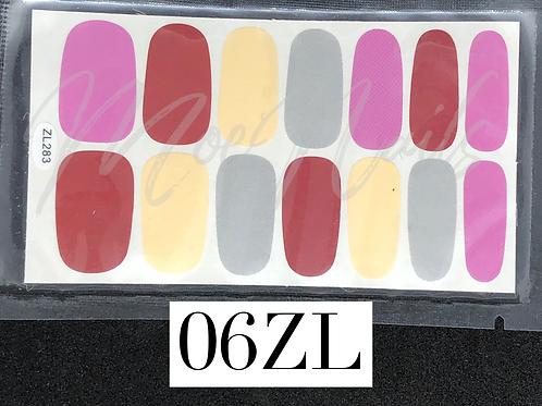 Nail Polish Sticker 06ZL