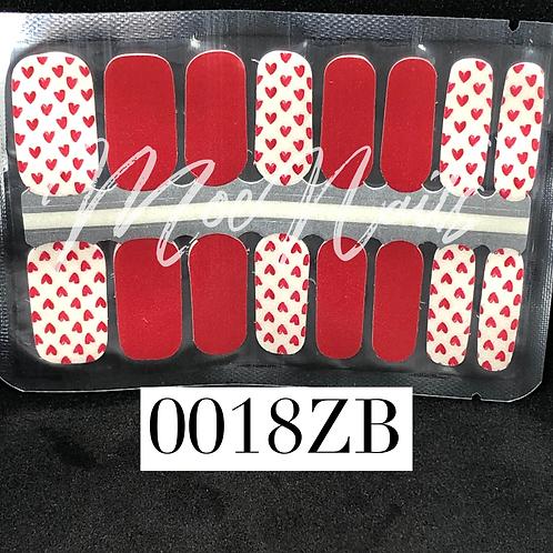 Nail Polish Strip 0018ZB