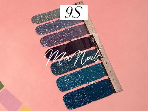 No-Heat Vinyl Nail Strips 9S