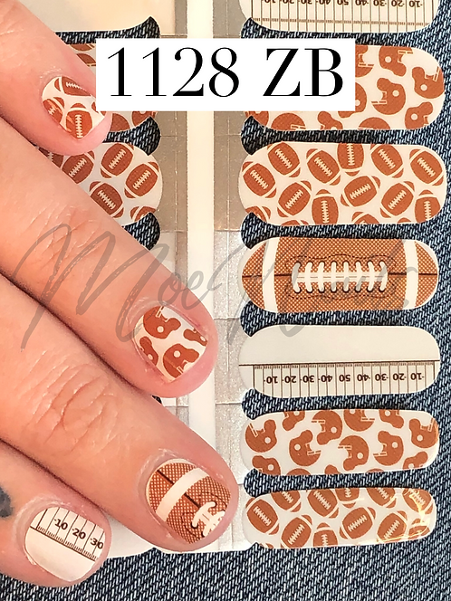 Nail Polish Strip 1128ZB