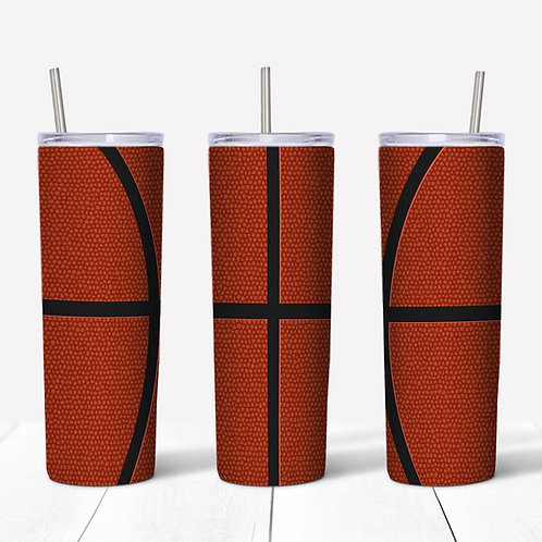 Basketball Sublimated Drinkware
