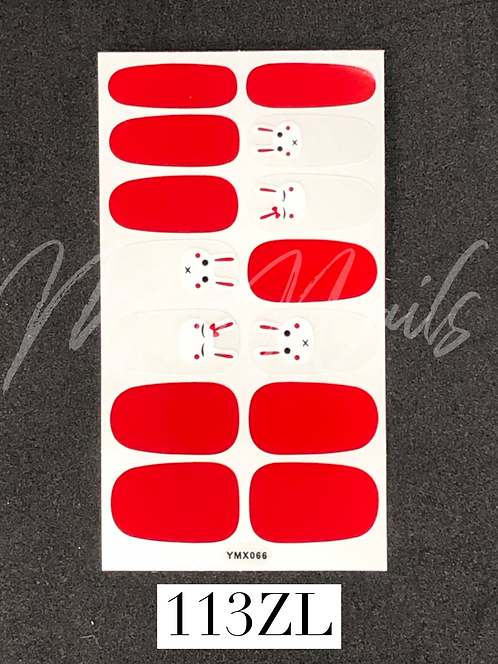 Nail Polish Sticker 113ZL
