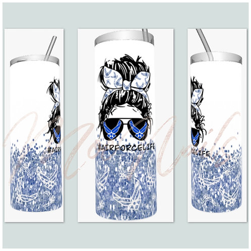 AirForce Life/ WingMom Sublimated Drinkware