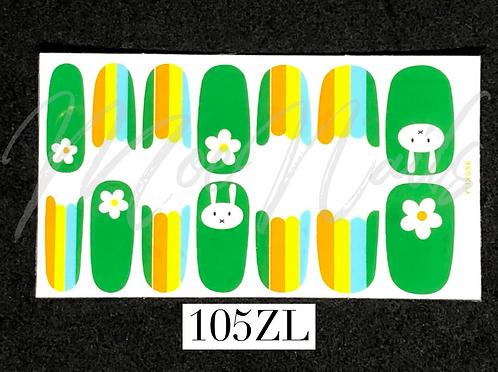 Nail Polish Sticker 105ZL