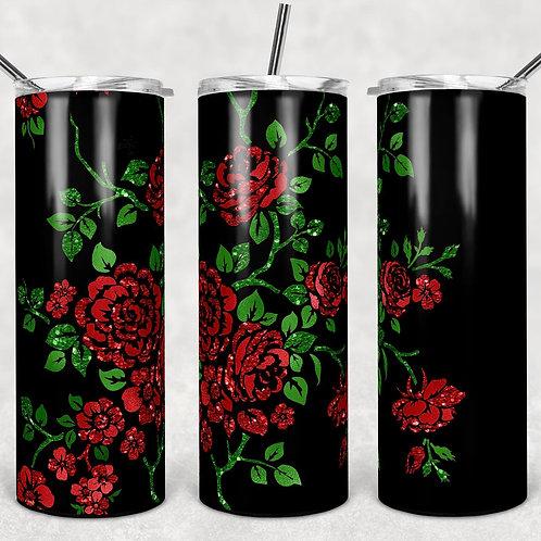 Spanish Roses Sublimated Drinkware