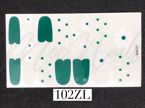 Nail Polish Sticker 102ZL