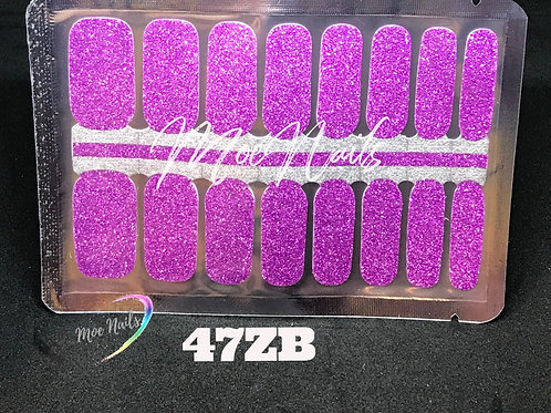 Nail Polish Strip 47ZB