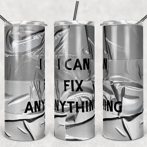 Duct Tape Sublimated Drinkware