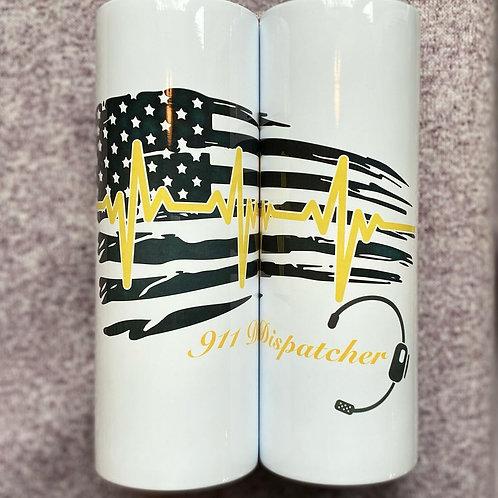 911 dispatcher Sublimated Drinkware