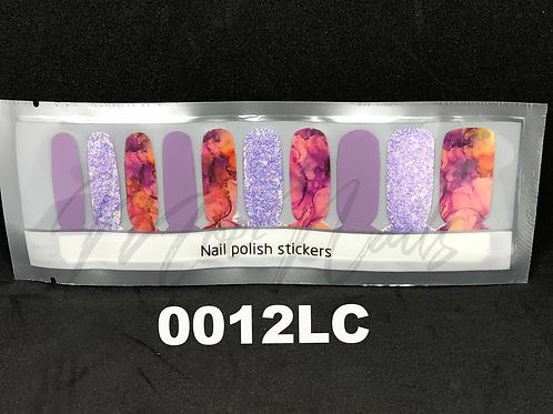 Luxe Nail Polish Strip 0012LC