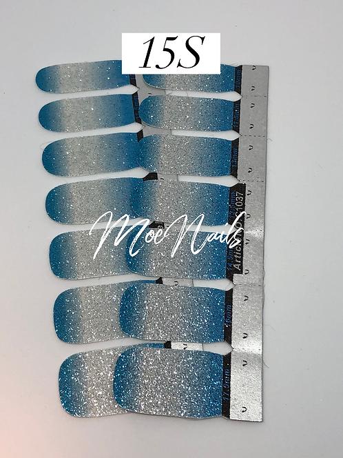 No-Heat Vinyl Nail Strips 15S