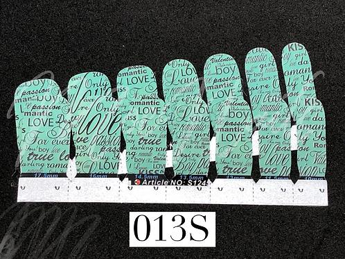 No-Heat Vinyl Nail Strips 013S