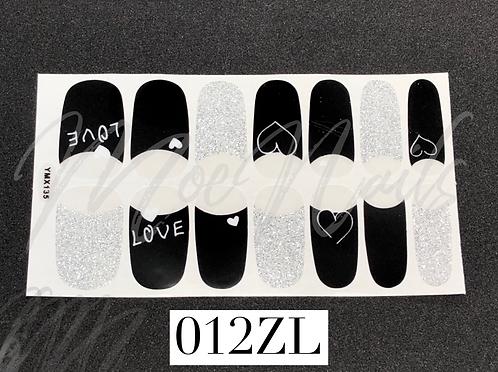 Nail Polish Sticker 012ZL