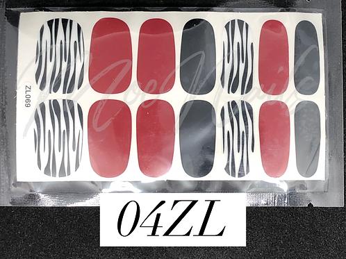 Nail Polish Sticker 04ZL