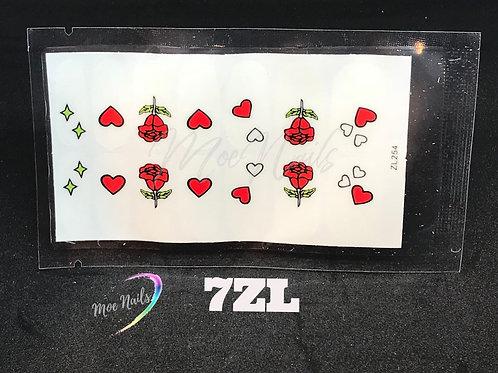 Nail Polish Stickers 7ZL
