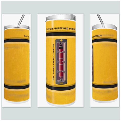 Scream Canister Sublimated Drinkware