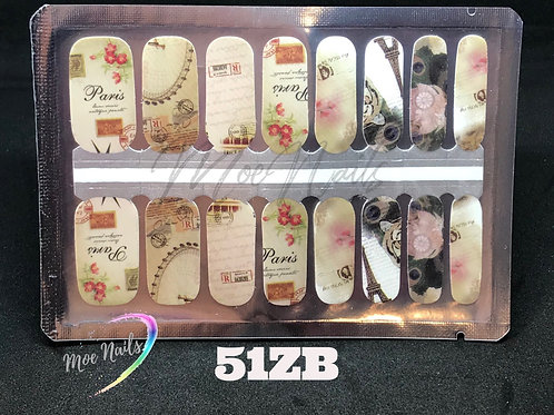 Nail Polish Strip 51ZB