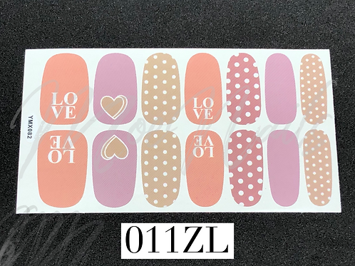 Nail Polish Sticker 011ZL
