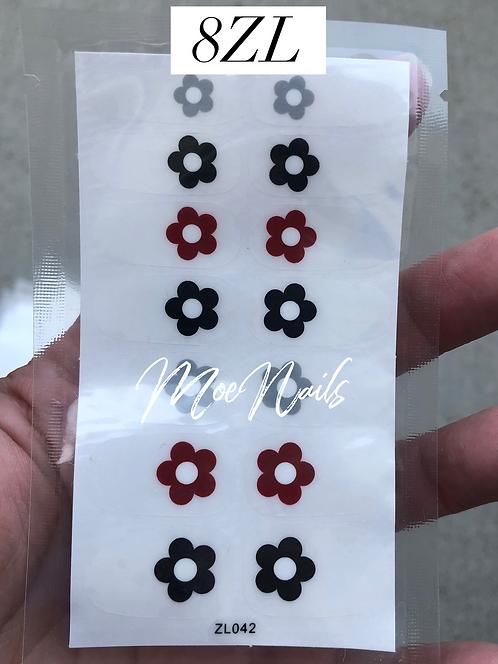 Nail Polish Stickers 8ZL