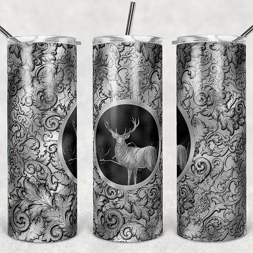 Silver Elk Sublimated Drinkware