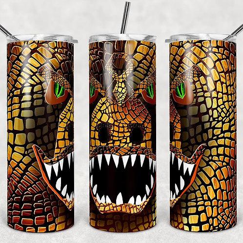 Dinosaur T-Rex Sublimated Drinkware