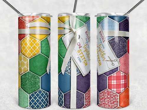 Quilt Sewing Sublimated Drinkware