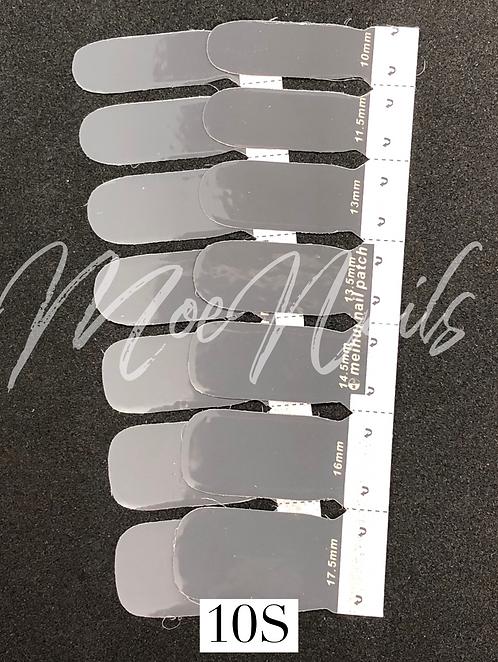 No-Heat Vinyl Nail Strips 10S