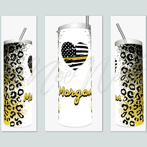 Cheetah First Responder Sublimated Drinkware