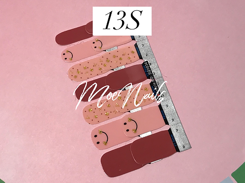 No-Heat Vinyl Nail Strips 13S