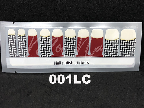Luxe Nail Polish Strip 001LC