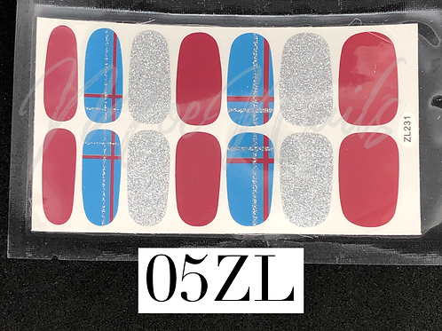 Nail Polish Sticker 05ZL