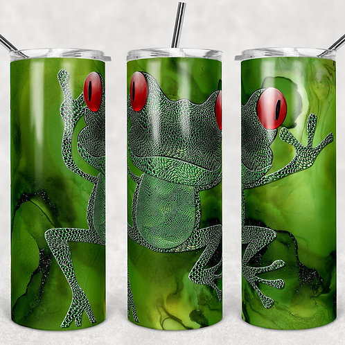 Tree Frog Sublimated Drinkware