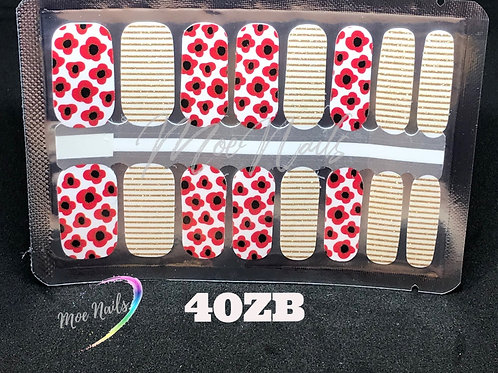 Nail Polish Strip 40ZB