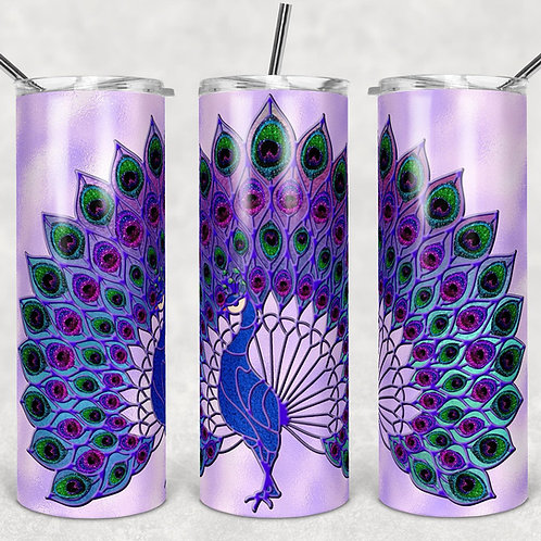Peacock Sublimated Drinkware
