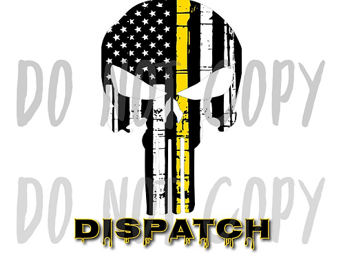 Dispatch Skull - Sublimated Drinkware