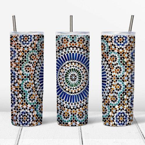 Mandala Sublimated Drinkware