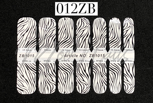 Nail Polish Strip 012ZB