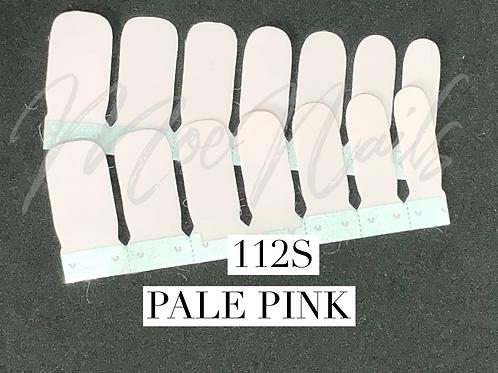 No-Heat Vinyl Nail Strips 112S Pale Pink