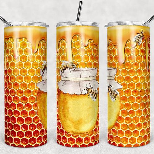 Honey Bee Sublimated Drinkware