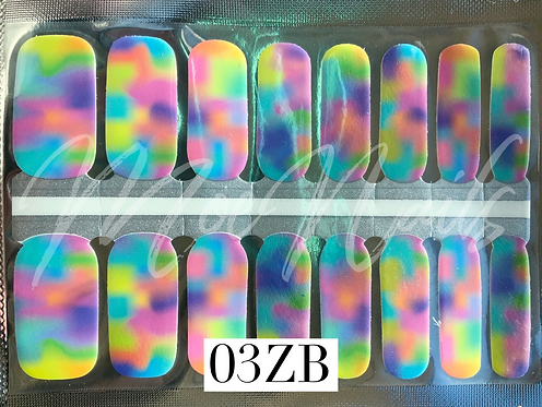 Nail Polish Strip 03ZB