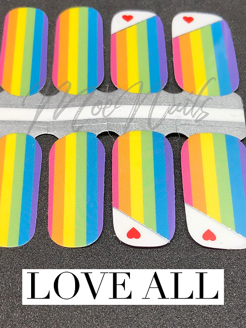 Love All Nail Polish Strip